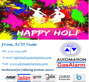 ALVI Holi Wishes