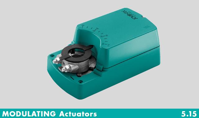 Actuators Security Fire, SFL Actuator, Joventa, SFL1.90 Series