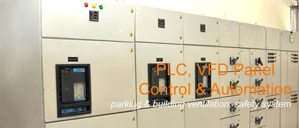 plc-vfd-panel-control-automation-parking-ventilation-system