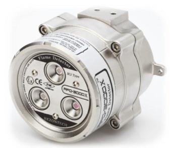 IR3 Flame detector – Explosion proof (PESO, IEC-Ex, ATEX, FM)