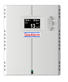Carbon Dioxide Transmitter, Monitor and Controller