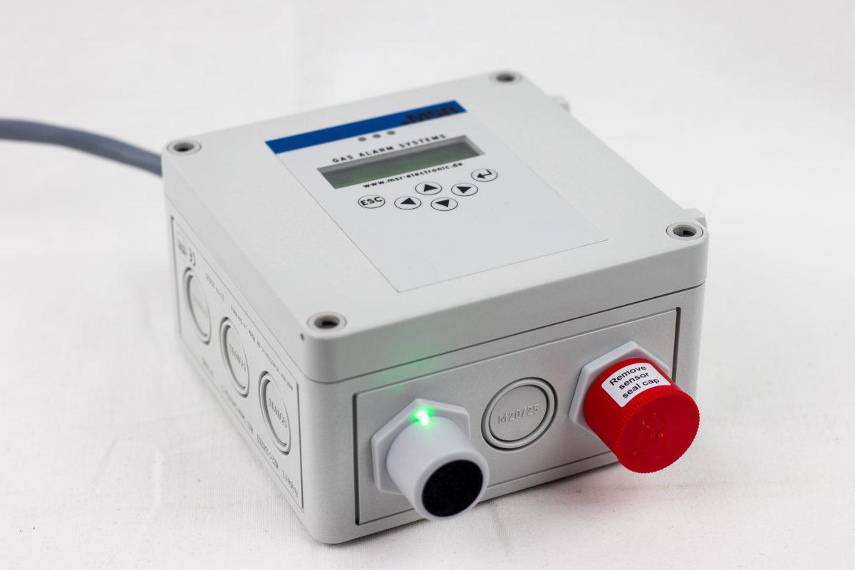 MSR GasAlarm CO CO2 Sensor Transmitter Approved in Ninyar Jagdalpur  Township Project By NMDC LTD Chhattisgarh