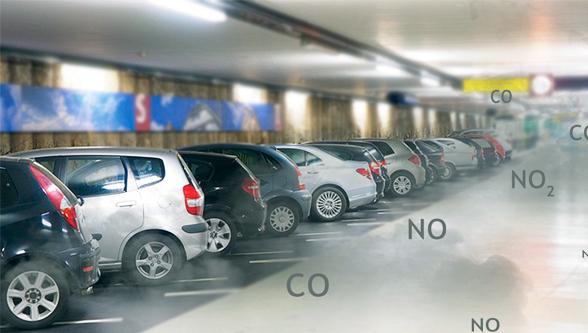 Futuristic and Visionary Car Park Basement Ventilation Solution