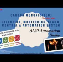 CARBON MONOXIDE DETECTION, MONITORING, ALARM, CONTROL & AUTOMATION SYSTEM by ALVI Automation